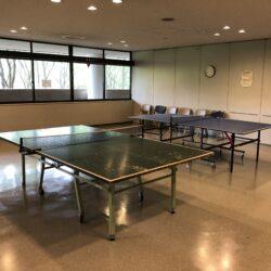 EGG DOMEでは、卓球やビリヤードを楽しむことができます。