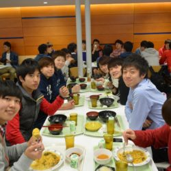 栄養バランスの良い食事を提供するスポーツ健康学部食堂です。