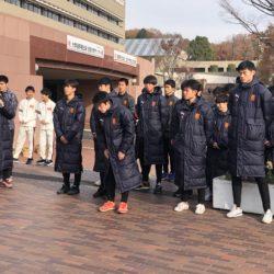 箱根駅伝・サッカー大学選手権出場壮行会