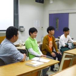 授業風景(学生からの発表)