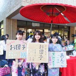 多摩茶道サークルのお団子は、とても好評でした。